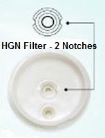 Kangen HG-N filter diagram
